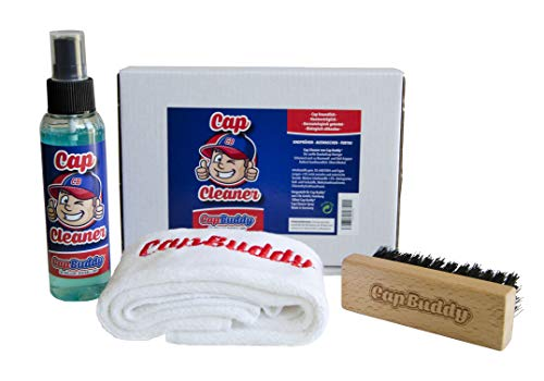 Cap Buddy Cap Cleaner Set Baseball Cap Cleaner voor alle honkbalpetten inclusief spray, borstel en doek