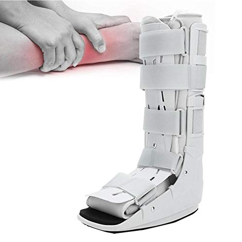 Enkelbevestiging Brace Walking Boot, Foam Pneumatic Air Select Walker Brace Voet Orthese Plantaire spalk Brace Walking Boot Enkelband Ondersteuning voor mensen met enkelproblemen(M)