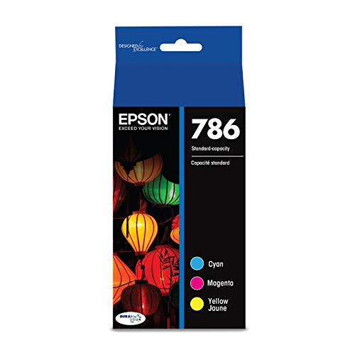 Epson T786520 DURABrite Color Ink Cartridge met Ultra Standard-Capacity, Multipack van Epson