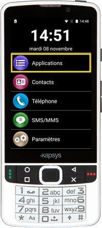 SmartVision 2 smartphone con tastiera e sintesi vocale ideale per non vedenti e ipovedenti