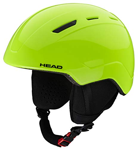 HEAD Unisex jeugd Junior Skihelm MOJO, Lime, XS/S