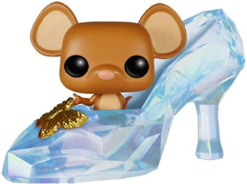 Funko Pop! Disney: Cinderella (Live Action) - Gus Gus in Slipper Vinyl Figure (Bundled with Pop Box Protector Case)