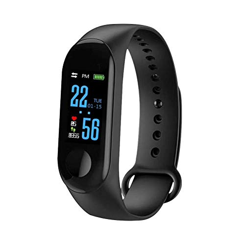 De nieuwe stappenteller Waterdicht Running Sports Tracker Step hartslagmeter Counter Walking Fitness Wrist Band Bekijk Armband