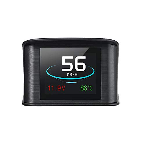 KKmoon Autohead Up Display Smart Digitale snelheidsmeter met OBDII EUOBD-poort, led-display OBDII-scanner, diagnose-tool