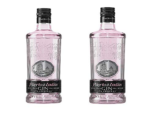 PROMO - Pack 2 botellas Gin Puerto de Indias Strawberry 70 cl