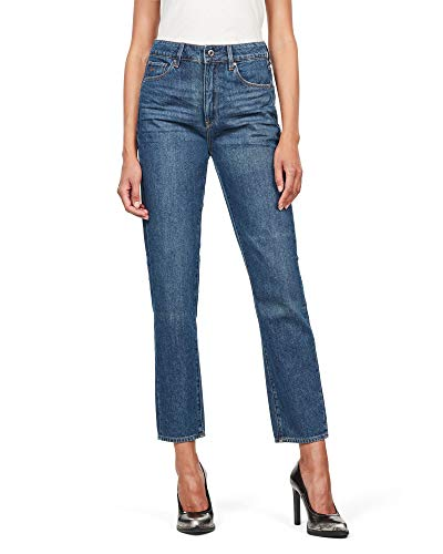 G-STAR RAW dames straight jeans 3301 High Straight 90's Ankle
