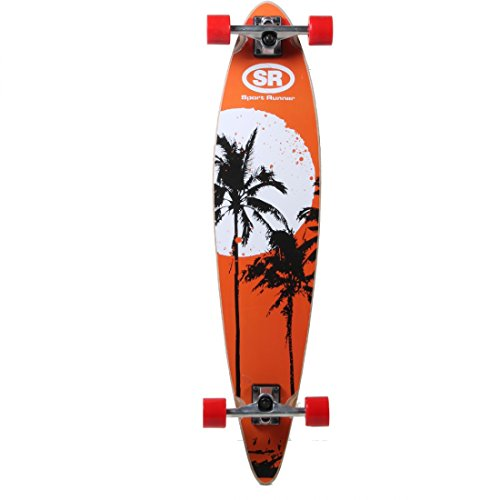 Speelgoed YX-0220F - Skateboard, hout, lang, 97 cm