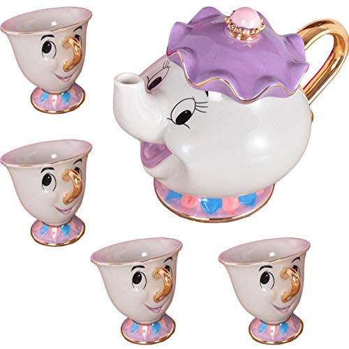 2020 Beauty and the Beast theeset Mrs Potts Chip Cup suikerpot set voor kindergeschenk
