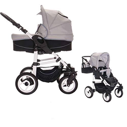 Bebebi Paris | 2 in 1 Passeggini compatti per bambini | ruote ad aria | Colore: Concord
