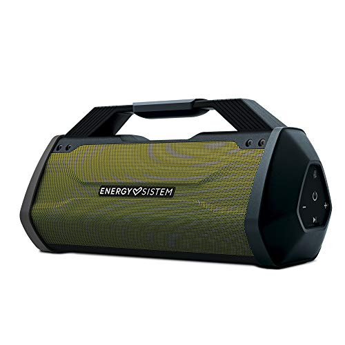 Energy Sistem Outdoor Box Beast (60W, Bluetooth, USB y microSD MP3. Radio FM, Resistente a Golpes)
