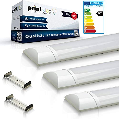 2x LED TL-buis Ultraslim 60cm 10W 3000K - Warm Wit Lineair Lichtbalk Lamp buis Tube Wit Bureaulamp Plafondlamp
