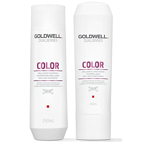 Goldwell Dualsenses shampoo met briljante kleuren, 250 ml en conditioner, 200 ml