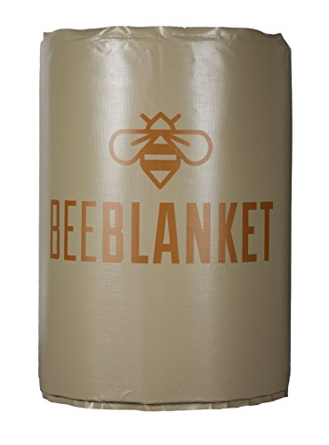 Powerblanket bb200-uk geïsoleerde drum verwarming, honing barrel verwarming Bee deken, vaste thermostaat set te onderhouden, 43 graden C, 200 l, antraciet