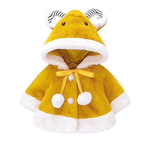 Gyratedream baby meisjes winter warm cartoon capuchon design mantel jas 5 En