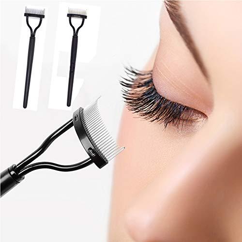 Wimperkam krulspelden, Wenkbrauwborstel Make-up Tool Mascara Applicator Wenkbrauw, Wimper Lash Separator voor Grooming Lash & Brow(Eyelash kammen)