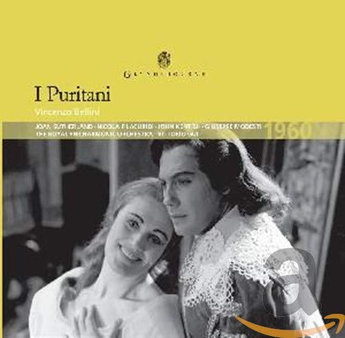 Bellini: I Puritani / Kentish, Sutherland, Filacuridi, Modesti, Rpo, The Glyndebourne Chorus - Gui