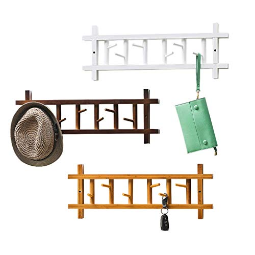 Kapstok Wall Mount Kapstok Muur Bedroom Hook Up After The Deurhangers Storage uitzoeken Shelf Kleding Plat (Maat: 60cmx23cm) LQH (Size : 80cmx23cm)