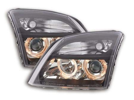 O. Vectra C 2002-2004 Angel Eyes halogeen koplamp zwart