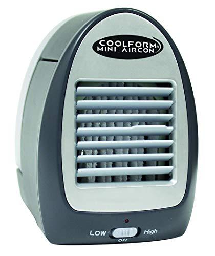 BEST DIRECT Coolform Mini Aircon Come Visto in TV - Climatizzatore Aria Fredda Portatile Personale Refrigeratore Raffreddatore d'Aria ad Acqua Silenzioso per Uso Personale