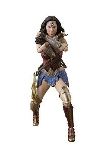 BANDAI – Justice League 57552 SH Figuarts – Wonder Woman, 15 cm, 19781