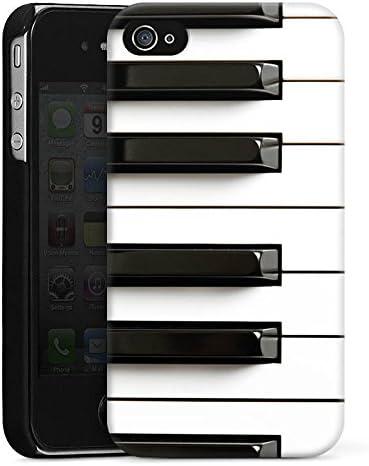 DeinDesign Coque Compatible avec Apple iPhone 4s Étui Housse Piano ...