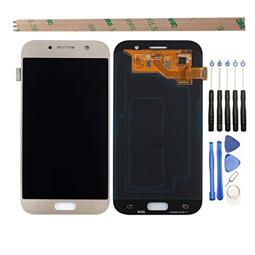 HYYT voor Samsung Galaxy A5 A520 A520F 2017 LCD Digitizer Scherm Vervangend LCD-scherm en Touch Screen Assembly, Goud