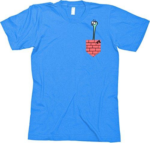 Shred T-Shirt FTC The Guy Blue - T-Shirt - Size M