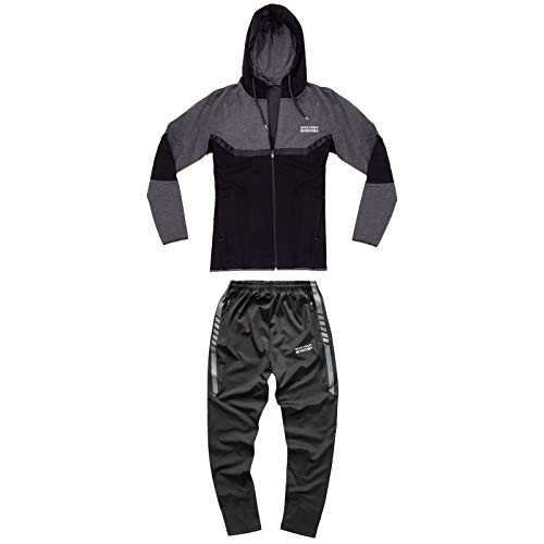 Rock Creek trainingspak voor heren, joggingpak, sweatjack, broek, fitnesspak M14