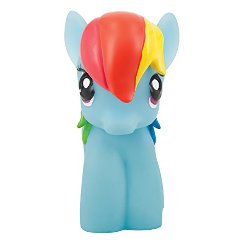 Joy Toy 40441 softlite nachtlampje My Little Pony-Rainbow Dash met auto-off-functie, meerkleurig, 15 x 20 x 30 cm