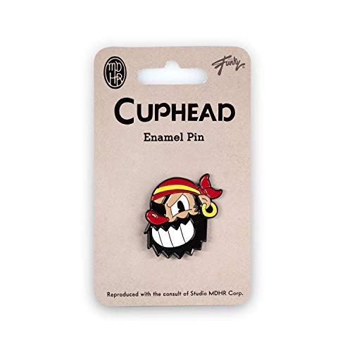 Cuphead Collectibles Pirate Boss Enamel Collector Pin | Collector's Edition