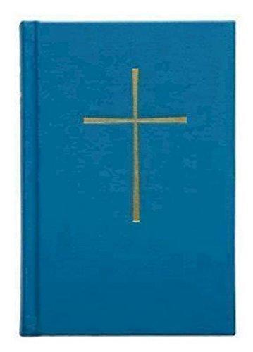 El Libro de Oracion Comun: Blue Pew Edition