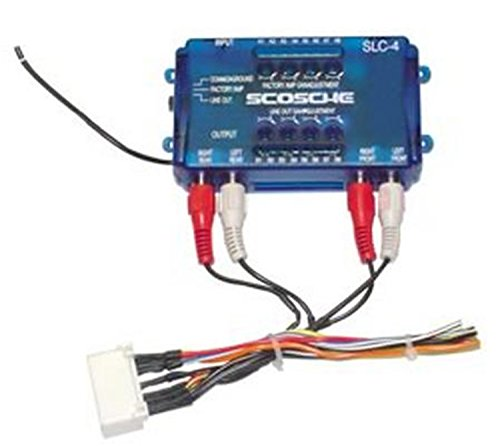 Scosche Radio Wiring Harness for 2000-Up Toyota Amplifier Interface