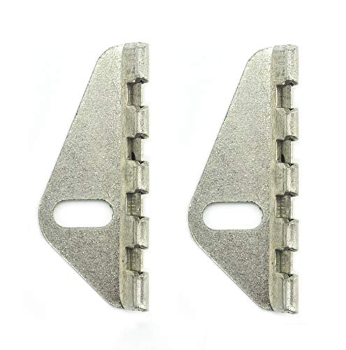 Industrial Sewing Machine/Overlocker Thread Cutter, Suitable for All- JUKI, BROTHER, JANOME, TOYOTA, Angled, 3.5cm - Pack of 2