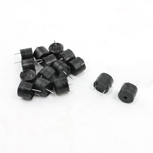 uxcell® 15Pcs DC 5V 85dB Industrial Active Electronic Alarm Buzzer