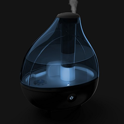 Pure Enrichment MistAire Ultrasonic Cool Mist Humidifier - Premium Humidifying Unit with 1.5L Water Tank, Whisper-Quiet Operation, Automatic Shut-Off and Night Light Function - Lasts Up to 16 Hours