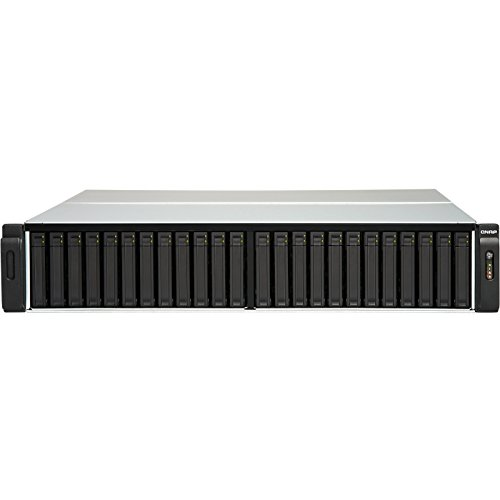 QNAP Network Attached Storage TES-3085U-D1548-32GR 24(+6) Bay Xeon D-1548 32GB ECC RAM 2x10GbE SFP+ Retail