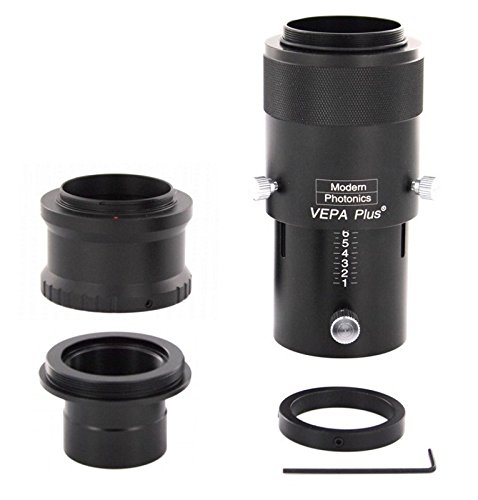 Premium Telescope Camera Adapter Kit for all Micro 4/3 Mirrorless Cameras by Modern Photonics