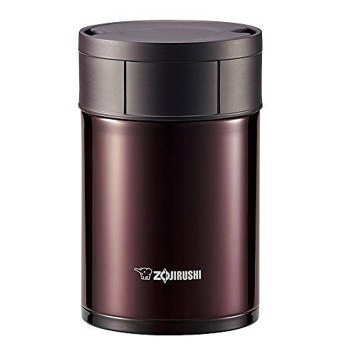 ZOJIRUSHI Stainless Steel Food Jar (450ml Capacity) Bordeaux SW-HB45-VD