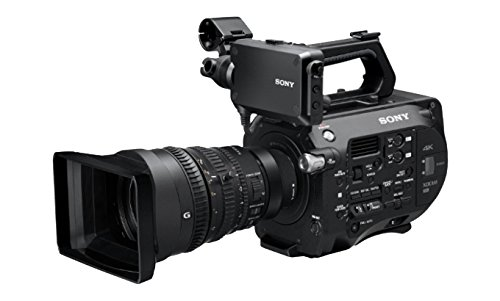Sony PXW-FS7K 4K XDCAM Super35 Camera with 28 to 135mm E-Mount Zoom f/4 G OSS Lens, 1/3 to 1/9,000sec Shutter Speed