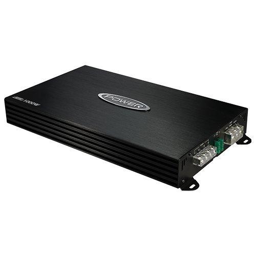 Jensen Power 500x1 Mono Channel Car Amplifier with 1,000 Watt Peak Performance