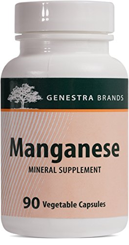 Genestra Brands - Manganese - Mineral Supplement - 90 Capsules