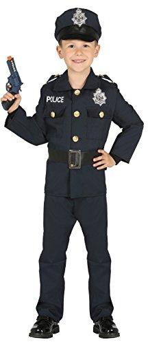 Guirca- Disfraz policía, Talla 3-4 años (87455.0)