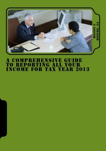 A Comprehensive Guide to Reporting All Your Income for Tax Year 2013
