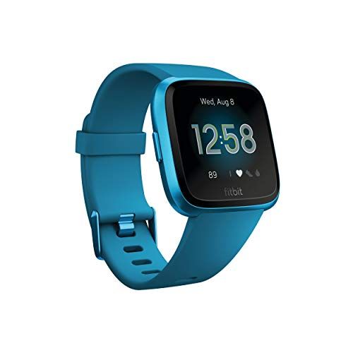 Fitbit Versa Lite Edition Smart Watch, One Size (S and L Bands Included)