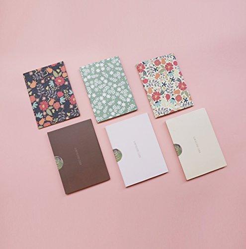 Slim Floral Passport Cover - SET of 3 - Waterproof Passport Holder for Women & Girls - Fashionable Lightweight Passport Case - Combo Pack - SE303