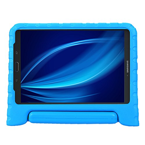 BELLESTYLE Tab E 8.0 Kids Case - Light Weight Shock Proof Convertible Handle Stand Cover for Samsung Galaxy Tab E 8-Inch SM-T375 SM-T377 Tablet, Blue