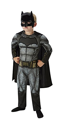 Rubies Batman - Disfraz Batman v Superman para niños, talla L, edad  7-8 años (Altura 128cm / Cintura 56cm)