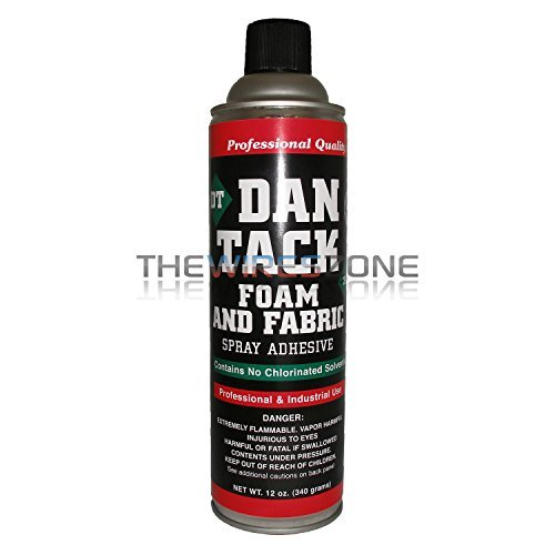 Dan Tack 2012 Professional Quality Foam & Fabric Spray Adhesive Can 12 oz
