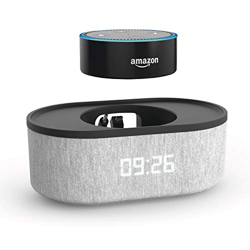 Radio Alarm Clock with USB Charger, Bluetooth Speaker QI Charging with Audio DOX