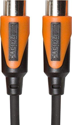 Roland 20ft MIDI Cable, Black series (RMIDI-B20)